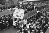 Leeds United reception after winning the FA Cup, 1972 Photographic Print by David Hicks