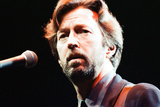 Eric Clapton in Brighton 1992 Photographic Print by Roger Allen