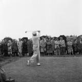 British Open 1952 Fotografisk tryk af Ernest Chapman