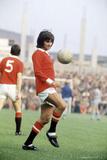 George Best United 1971 Fotografisk tryk af Ernest Chapman