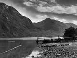 View of the hills overlooking Loch Shiel and the Glen 29/08/1946 Photographic Print by  Staff