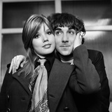 Keith Moon and Wife Kim Fotoprint av Charlie Ley