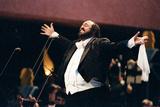 Luciano Pavarotti's Free Concert, Hyde Park, 1991 Fotografie-Druck von Ken Lennox