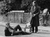 The Cast of the Young Ones Seen Here Filming on Location at Codrington Road, Bristol Photographic Print by Albert Foster