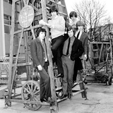 The Rolling Stones a the Mad Mod Ball, 1964 Photographic Print by  Staff