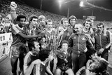 Nottingham Forest V Aek Athens European Cup 1980 Photographic Print by Monte Fresco