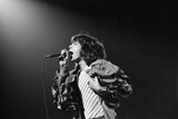 The Rolling Stones 1976 Fotografisk trykk av Birmingham Post Mail Archive