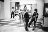 Rolling Stones at Wembley Park Studios 1968 Fotografisk trykk av  Staff