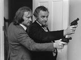 Actors of the Sweeney, 1975 Fotografisk tryk af Jack Curtis
