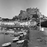 Gorey Harbour, Channel Islands 1965 Photographic Print by  Staff