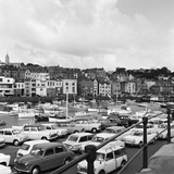 St Peter Port Harbour on the Island of Guernsey 1965 Photographic Print by  Staff