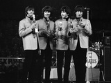New Musical Express Pop Concert at Empire Pool Wembley 11th April 1965 Fotografisk tryk af Will Dyson
