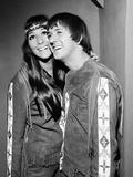 Sonny and Cher, 1966 Fotodruck von Eric Harlow