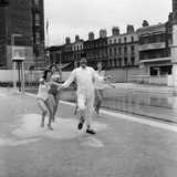 Oasis Lido, London, 1959 Photographic Print by Eric Harlow