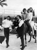 The Byrds in Miami, Florida 1965 Fotografie-Druck von Curt Gunther