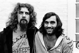 Billy Connolly Meets George Best 1977 Papier Photo par Kent Gavin