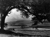 Craigallian Loch 1956 Photographic Print by Daily Record