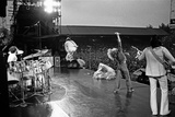 The Who in Concert 1976 Fotografisk tryk af Mike Maloney