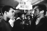 Muhammad Ali and Ken Norton, 1976 Fotografisk tryk af Monte Fresco