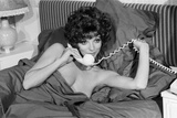 Joan Collins 1974 Lámina fotográfica por Kent Gavin