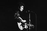 Bob Dylan concert 1965 Fotografisk tryk af Alisdair Macdonald