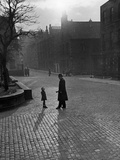 Edinburgh street scenes, 1930s Photographic Print by  Unknown
