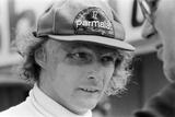 Niki Lauda, 1978 Fotografisk tryk af Charlie Ley