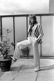 Rod Stewart, 1975 Photographic Print by  Staff