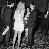 George Best and Girlfriend Photographic Print by Ernest Chapman
