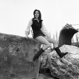 Diana Rigg Photographic Print by Victor Crawshaw