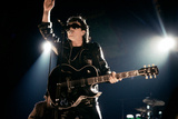 U2 Performing at the Nec Photographic Print by Andrew Fox