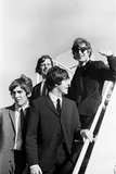 The Beatles 1964 American Tour Fotografisk tryk af Curt Gunther