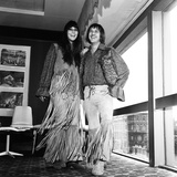 Sonny and Cher, 1965 Fotodruck von Eric Harlow