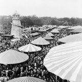 Easter Fair, Hampstead Heath, 1952 Photographic Print by Henry How