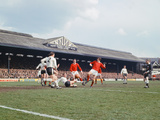 Fulham 2 V Manchester United 2 1967 Photographic Print by Charlie Crawford