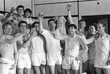 Freddie Grevett - Manchester United Footballer George Best 1967 Fotografická reprodukce