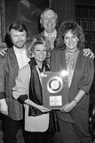 """Silver Disc Presentation for """"I Know Him So Well"""" 1985 Photographic Print by Andy Hosie"""