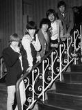 The Rolling Stones at Wembley, 1964 Fotografisk tryk af Bob Rendle