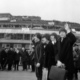 The Beatles Fly Off to Crying Fans, 1965 Photographic Print by Daily Mirror