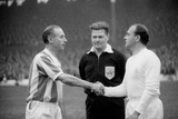 Stoke v Real Madrid, 1963 Reproduction photographique par Daily Mirror