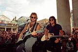 Jon Bon Jovi Fotodruck von Bill Rowntree