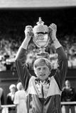 Boris Becker wins Wimbledon 1985 Fotografiskt tryck av  Staff