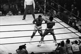 Muhammad Ali Vs Joe Frazier 1971 Reproduction photographique par Monte Fresco