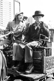 Steptoe and Son Actors Enjoy a Pint after Filming, 1974 Photographic Print by Eric Piper