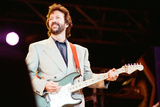 Eric Clapton at Nelson Mandela's 70th Birthday Concert 1988 Photographic Print by Brendan Monks