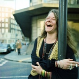 Janis Joplin Photographic Print by Malcolm McNeill