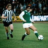 George Best in Action for Hibernian, 1979 Photographic Print by Kent Gavin