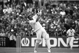 The Ashes. England V Australia 5th Test Match 1981 Fotografisk tryk af Eric Piper