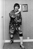 Keith Moon of the Who 1975 Fotoprint av Allan Olley