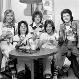 Bay City Rollers pop group. March 1975 Photographic Print by  Staff